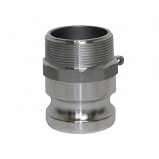 """3"""" CAMLOCK MALE IRON PIPE X MALE ADAPTER PART F"""