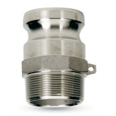 """2"""" CAMLOCK MALE IRON PIPE X MALE ADAPTER PART F"""