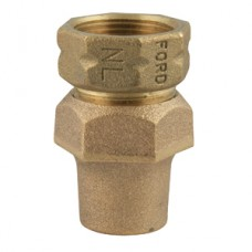 """5/8"""" FEMALE COUPLING THREAD X 3/4"""" FLARE ADAPTER NO LEAD"""