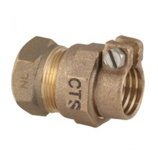 """3/4"""" Female Iron Pipe X 3/4"""" Pack Joint For CTS Straight Comprerssion Coupling No Lead"""