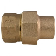 """1 1/2"""" Flare X 1 1/2"""" FIP Straight Coupling No Lead"""