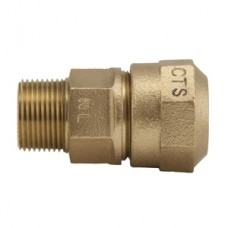 "1"" Pack Joint For CTS X 1"" Male Iron Pipe Q Style Compression Coupling No Lead"