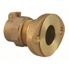"""1 1/2"""" Meter Flange X 1 1/2"""" CTS Pack Joint Adapter No Lead"""