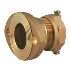 """1 1/2"""" Flanged X 1 1/2"""" Iron Pipe Pack Joint Adapter No Lead"""