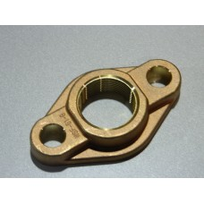 "1-1/2"" BRONZE OVAL METER FLANGE NO LEAD"