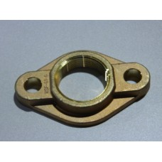 "2"" BRONZE OVAL METER FLANGE NO LEAD"