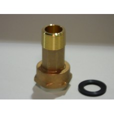 "3/4"" METER COUPLING WITH GASKET NO LEAD"