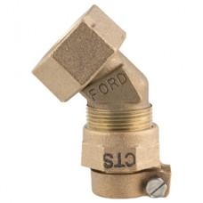 """3/4"""" 1/8"""" Bend Lead Corp Swivel Adapter No Lead"""