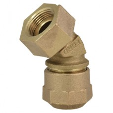 """5/8"""" Female Coupling Thread X 3/4"""" Quick Joint For CTS Compression Adapter No Lead"""