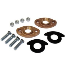 "1-1/2"" BRONZE FLANGE KIT NO LEAD"