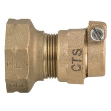 """1/2"""" Extra Strong Lead X 3/4"""" CTS Pack Joint Coupling No Lead"""