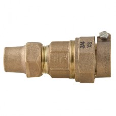 "3/4"" Xtra Strong Lead X 3/4"" Flare Copper Union No Lead"