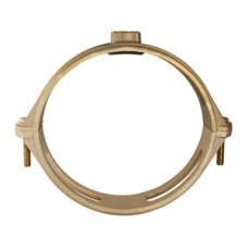 """10"""" Brass Saddle For C900 Pipe With 1"""" Tap"""