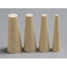 "1 1/2"" X 2"" X 6"" Wooden Plug (Large)"